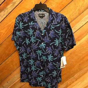 Trunks surf and swim men shirt large NWT